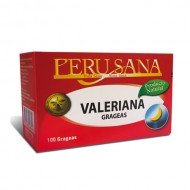 PERUSANA - VALERIAN GRAGEAS , BOX OF 100 UNITS