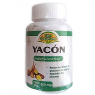 BIO AURORA - CAPSULES OF YACON 500 MG , JAR  X 100 CAPSULES