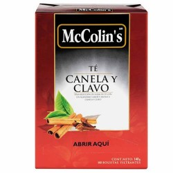 MCCOLIN'S - TEA,CINNAMON AND CLOVE BOX OF 100 UNITS