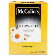 MCCOLIN'S - PERUVIAN CHAMOMILE INFUSION , BOX OF 100 TEA BAGS
