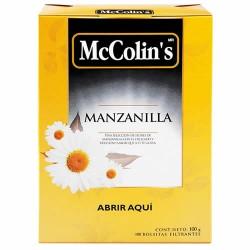 MCCOLIN'S - PERUVIAN CHAMOMILE INFUSION , BOX OF 100 TEA BAGS