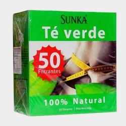 SUNKA - GREEN TEA INFUSION, BOX OF 50 TEA BAGS