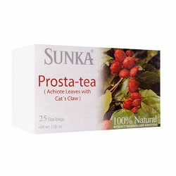 SUNKA - PROSTA TEA INFUSION , BOX OF 25 BAG FILTERS