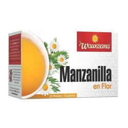WAWASANA - CHAMOMILE BOX OF 25 BAG FILTERS