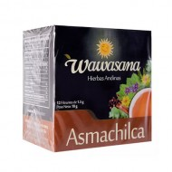 WAWASANA ASMACHILCA -  PERUVIAN TEA INFUSIONS , BOX OF 12 BAG FILTERS