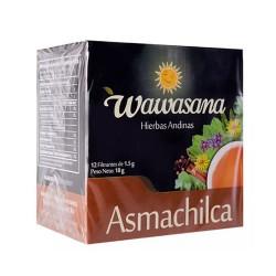 WAWASANA ASMACHILCA -  PERUVIAN TEA INFUSIONS , BOX OF 12 BAG FILTERS