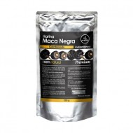 ALL NATURAL - BLACK MACA GELATINIZED POWDER , SACHET X 250 GR