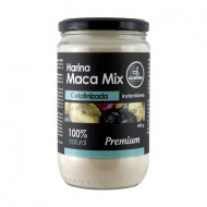 ALL NATURAL - PREMIUM MACA MIX GELATINIZED POWDER , BOTTLE X 400 GR
