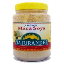 NATURANDES  - PERUVIAN MACA AND SOYA FLOUR POWDER - X 340 GR