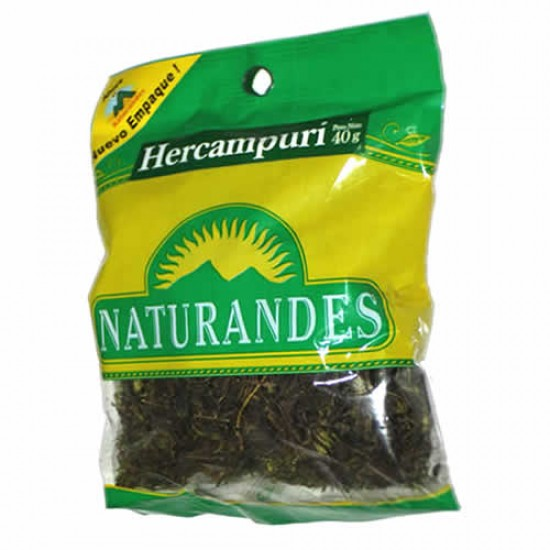 NATURANDES - PERUVIAN HERCAMPURI HERBS - BAG X 40 GR