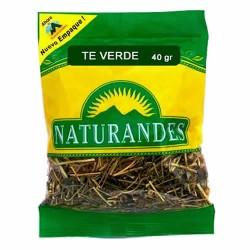NATURANDES - PERUVIAN GREEN TEA LEAVES , BAG  X 40 GR