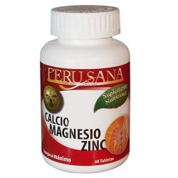CALCIUM MAGNESIUM ZINC - PERUSANA, JAR  X 60 TABLETS