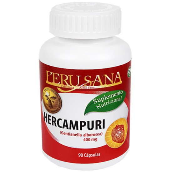 HERCAMPURI - PERUSANA  X 90 CAPSULES 400 mg