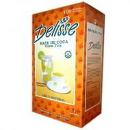 DELISSE -  PERUVIAN TEA MATE INFUSIONS , BOX OF 100 UNITS