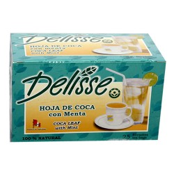 DELISSE - PERUVIAN ANDEAN TEA WITH MINT, BOX OF 25 TEA BAGS