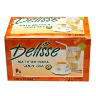DELISSE -  ANDEAN LEAF TEA INFUSIONS , BOX OF 25 TEA BAGS