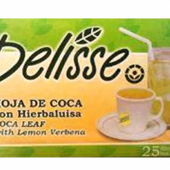 DELISSE - ANDEAN TEA WITH LEMON VERBENA , BOX OF 25 TEA BAGS