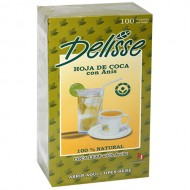 DELISSE - ANDEAN TEA WITH ANISE, BOX OF 100 TEA BAGS