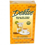 DELISSE -MATE OF ANDEAN TEA WITH CHAMOMILE , BOX OF 100 TEA BAGS