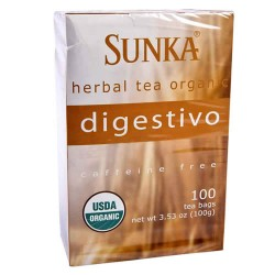 SUNKA DIGESTIVO - PERUVIAN TEA INFUSIONS, BOX OF 50 BAG FILTERS