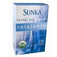SUNKA RELAJANTE - PERUVIAN TEA RELAX INFUSIONS, BOX OF 50 BAG FILTERS