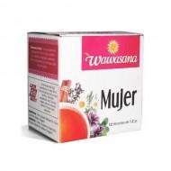 WAWASANA WOMAN - PERUVIAN  TEA INFUSIONS , BOX OF 12 BAG FILTERS