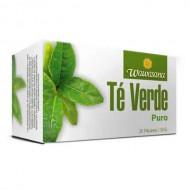 WAWASANA  GREEN TEA  - PERUVIAN TEA INFUSIONS , BOX OF 20 BAG FILTERS