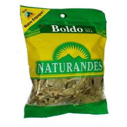 NATURANDES - PERUVIAN BOLDO LEAVES  , BAG  X 60 GR