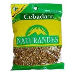 NATURANDES, - PERUVIAN TOASTED BARLEY SEEDS , BAG X 150 GR