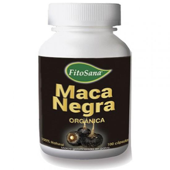 FITOSANA - INCA PERUVIAN  BLACK MACA X 100 CAPSULES