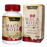 SUPERNATURAL-  INCA PERUVIAN  RED MACA X 100 CAPSULES 500 MG