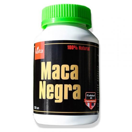 KAITA - INCA PERUVIAN  BLACK MACA 350 MG X 120 CAPSULES